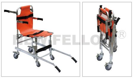Emergency Rescue Collapsible PVC Seat Stair Stretcher For Ambulance