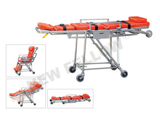 Good Quality Ambulance Stretcher & Wheeled Stainless Steel Emergency Evacuation Stretcher For Elevator on sale