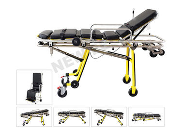 Good Quality Ambulance Stretcher & Multi Functional Folding Ambulance Trolley Stretchers Chair For Hospitals on sale