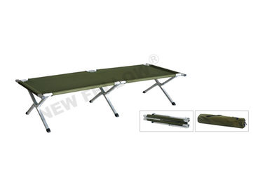 Good Quality Ambulance Stretcher & Oxford Leather Military Emergency Folding Stretcher , Double Folded Camping Bed on sale