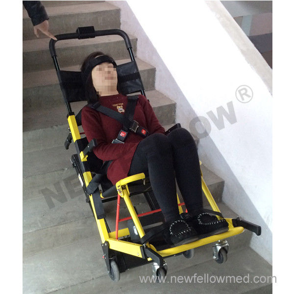 Chair Stretcher for old people , Electric Climbing Chair , Electric Evacuation Chair