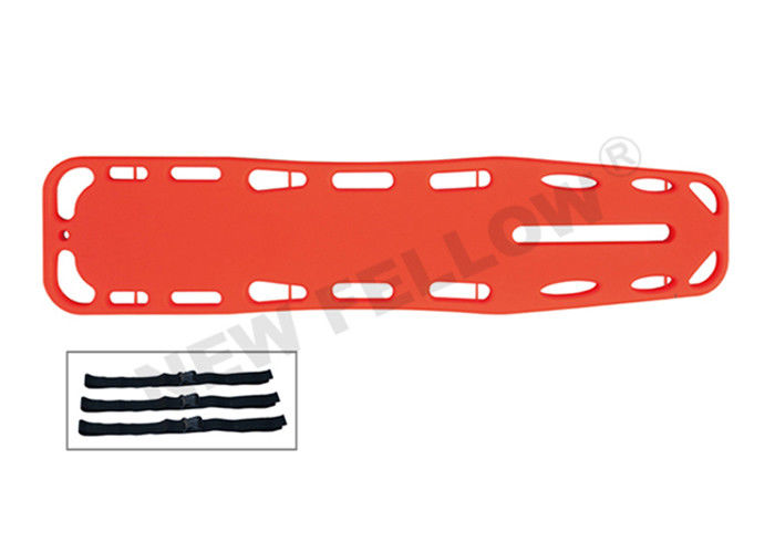 X - Ray Allowed Portable Floating Spine Board Stretcher Orange / Yellow CE / FDA