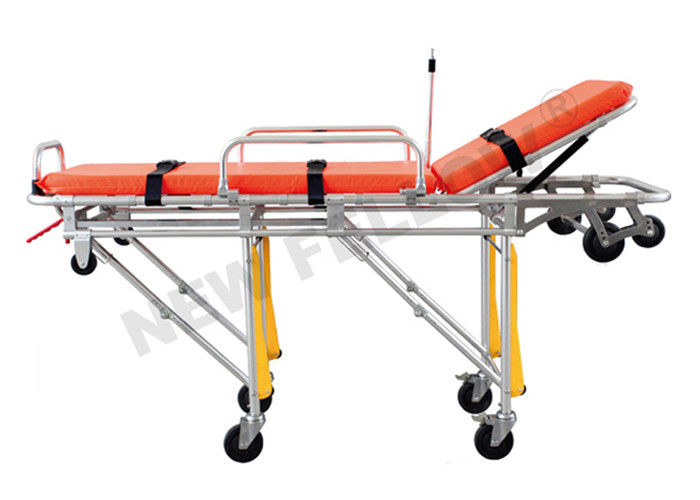 Roll in Self Collapsible Aluminum Ambulance Stretcher Patient Transfer Stretcher