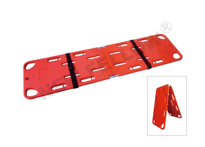 Portable Foldable PE Floating Spine Board , Hospital Patient Transfer Stretcher