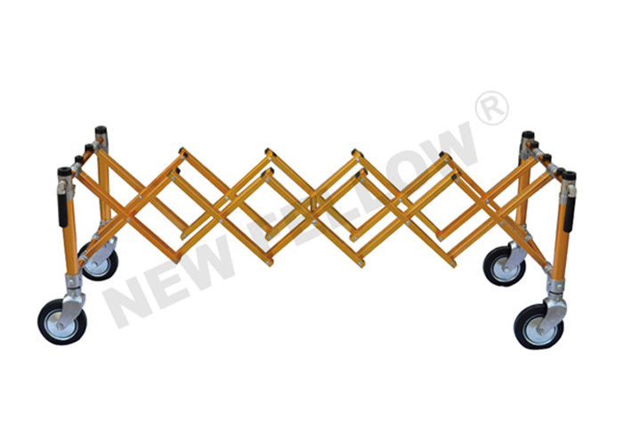 Aluminum Alloy Telescopic Funeral Stretcher Trolley