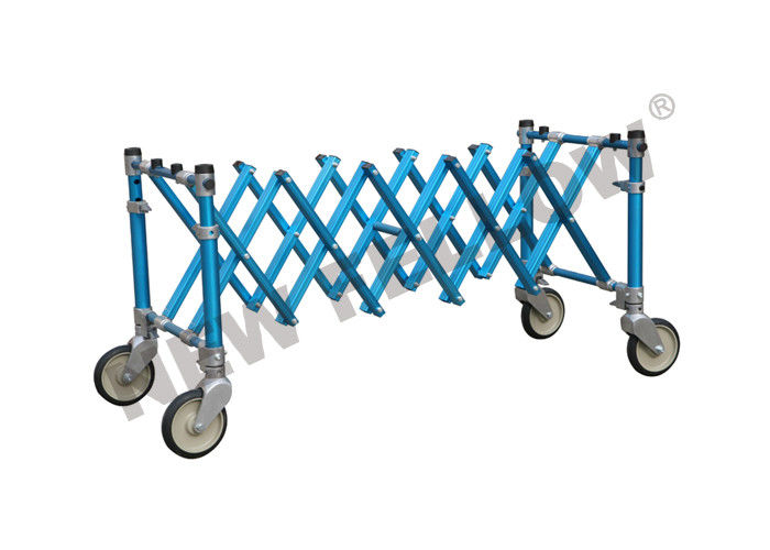 Aluminum Alloy Extensional Funeral Stretcher Church Trolley / Coffin Support