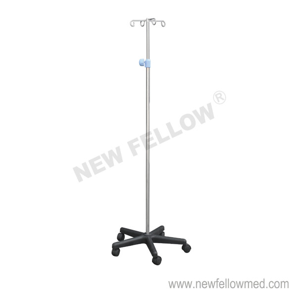 Stainless Steel Portable IV Stand