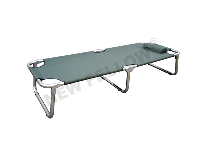 Stainless Steel And Power coated Steel Camping Stretcher Bed For Military