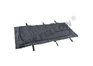 ISO9001 / FDA  Black Funeral Body Bag Disposable For Dead Bodies
