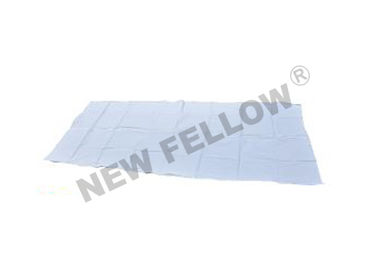 "Disposable PVC White Funeral Body Bag 36"" x 90"" With Straight Zipper"