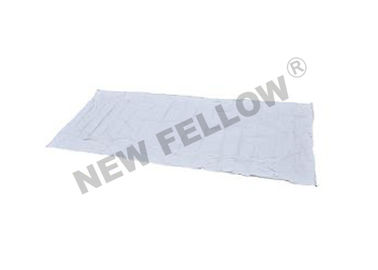 CE White Dead Body Bag For Funeral , Mortuary Equipment Disposable