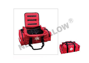 Moisture Resistance Red CE First Aid Bag For Hospital Or Ambulance