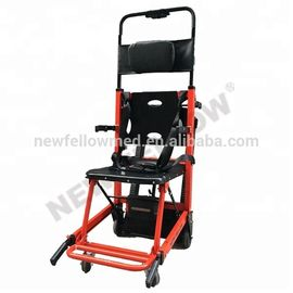 Medical Portable Foldable Electric Stair Climbing Wheelchair Two Years Warranty