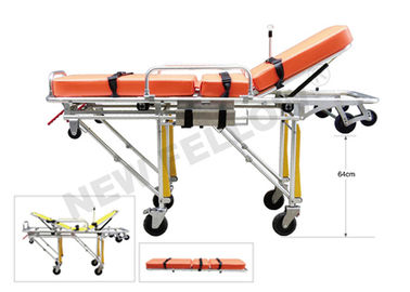 Detached Wheeled Patient Transport Stretcher Stainless Steel Stretchers