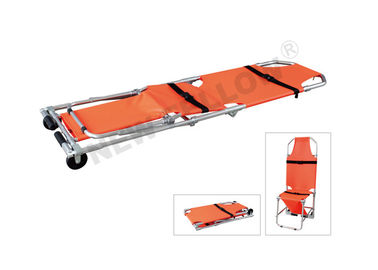 Elevator Wheeled Stair Emergency Folding Stretcher In Narrow Passages Rescue