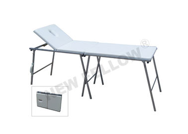 Foldable Stainless Steel Medical Examination Couch For Emergency Center